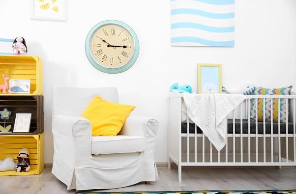 Nursery Furniture Set Up