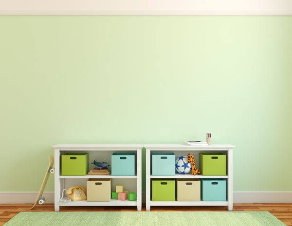 storage for playroom