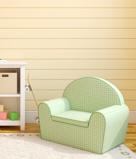 toddler chair in play area