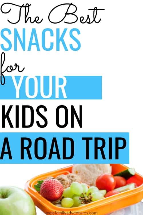 kids snacks with surrounding text