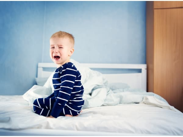 toddler yelling from bed instead of sleeping